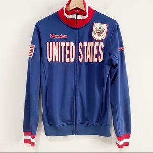 MONDETTA Men's Vintage USA Track Jacket